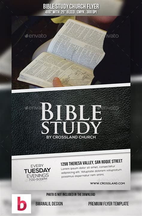 8 best images of free printable bible study flyer bible