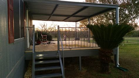 Lytle Texas 14'x21' Patio Deck and Awning   Carport Patio