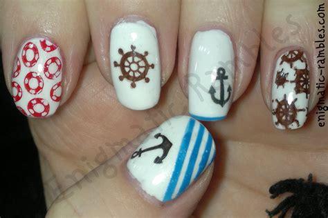 nail tattoo designs sailor nail tattoos designs