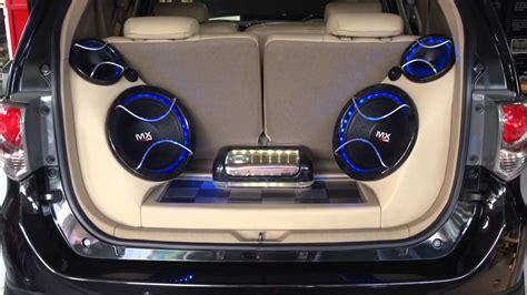 Karet Bagasi Set audio mobil fortuner sq loud innovation car audio