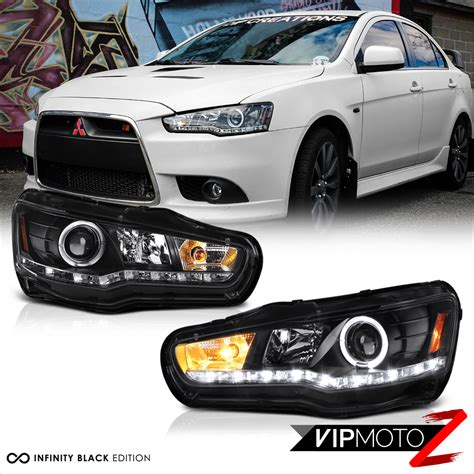 mitsubishi gsr 2017 2008 2017 mitsubishi lancer evolution gsr mr black led