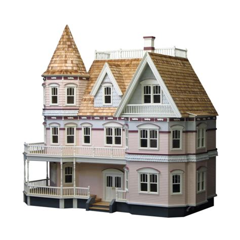 queen anne house a newly built 18 000 square foot brick queen anne dollhouse kit real good toys