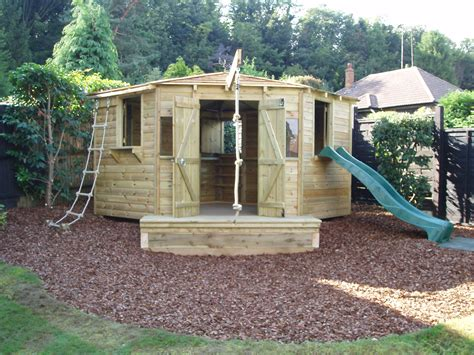 Garden Playhouse by A D Landscapes Ltd Play Houses And Forts Garden Design
