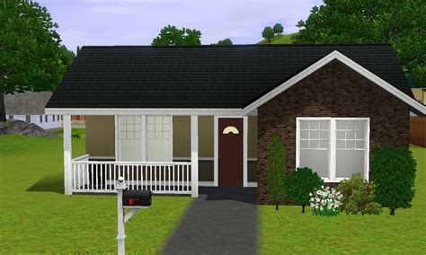 starter homes the sims 3 house building small starter home