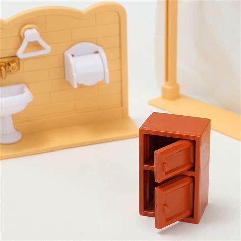 Bathroom Furniture Accessories Diy Miniatures Bedroom Bathroom Furniture Sets For