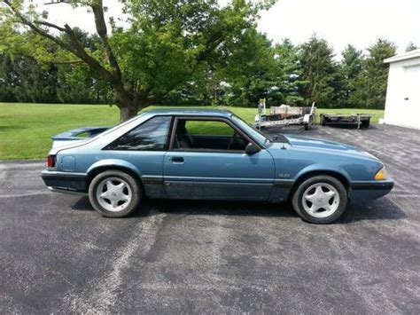 1987 ford mustang parts purchase used 1987 ford mustang lx 5 0l 5 speed project of