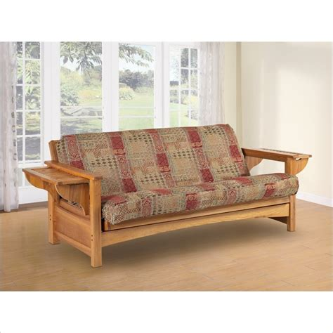 Oak Futon by Lifestyle Solutions Townsend Solid Oak Futon Frame Ebay