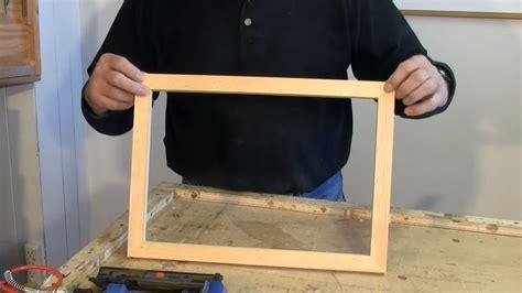 making picture frames   sliding mitre