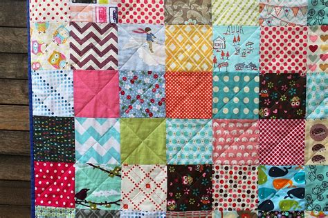 Quilting Squares by Scrappy Charm Square Quilt Sew Delicious