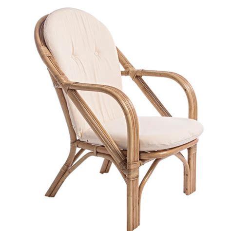 poltrone cuscino divani e poltrone rattan banano bamb 249 su etnico outlet