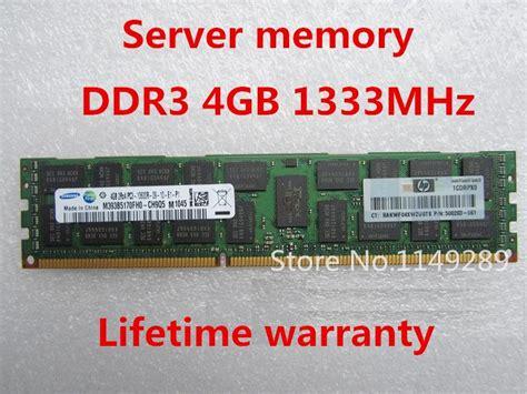 V Memory 4gb Ddr3 Pc 10600 Ecc Reg Lifetime Warranty For Samsung 4gb 8gb 12gb 16gb 32gb 1333mhz Pc3 10600r 4g Ecc Reg Server Memory
