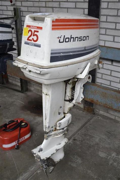 johnson buitenboordmotor 2 5 pk buitenboordmotor johnson 25 pk werkend nie