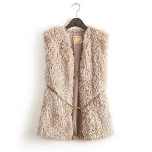 Fur short design wool sweater vest waistcoat women s vest fur vest