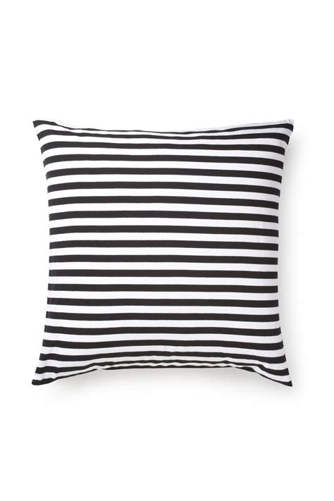 18709 Classic White And Stripe connection classic stripe jersey cushion navy white sale connection