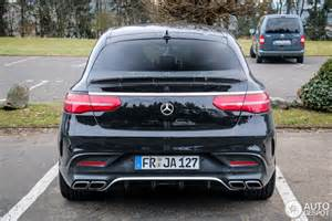 Mercedes Amg 63 Mercedes Amg Gle 63 Coupe 25 March 2015 Autogespot