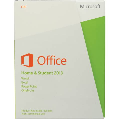 microsoft home office microsoft office home student 2013 aaa 02875