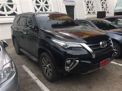 Fortuner Ad2039b Black List White toyota fortuner