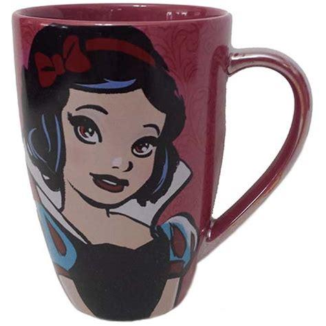 wdw store disney coffee cup mug princess snow