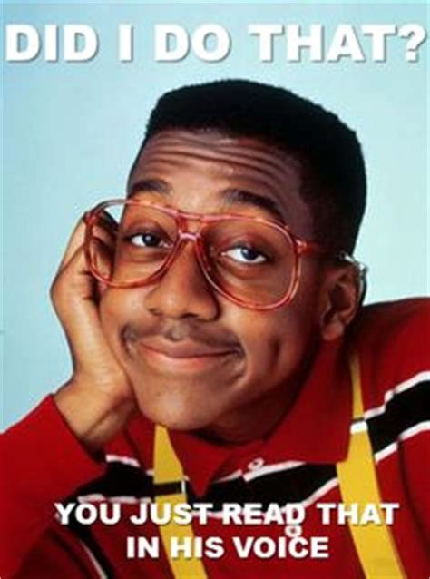 Family Matters Memes - 1000 images about family matters on pinterest family matters steve urkel and jaleel white