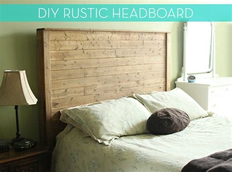 making a headboard for a bed how to make a diy rustic modern bed frame and headboard