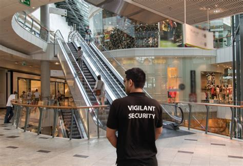 Retail Security Guard by Retail Security Vigilant Security Services Uk