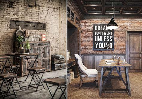 el estilo industrial en los muebles  la decoracion de