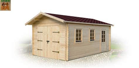 Garage En Bois En Kit 330 by Garage En Bois En Kit Garage 2 Places Twix M2 En Kit