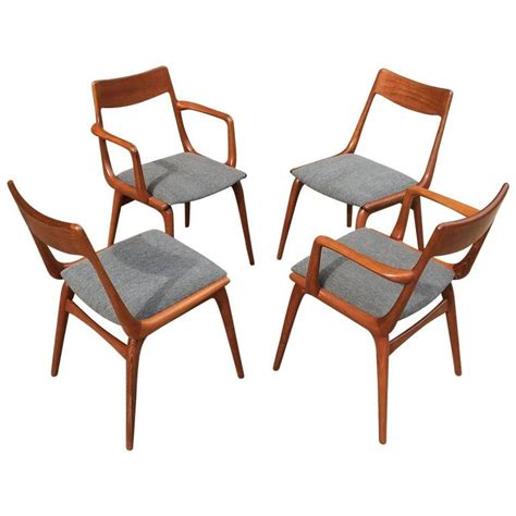 Danish Modern Teak Dining Chairs By Erik Christiansen For Teak Dining Room Chairs For Sale