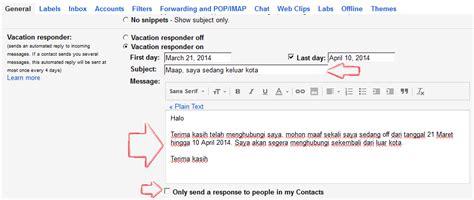 cara membuat gmail di hp java cara membuat autoresponder di layanan gmail dailysocial