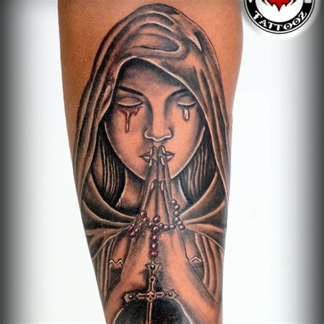 praying angel tattoos for men the gallery for gt kneeling praying