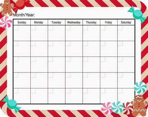 Get free formatted blank calendar templates below
