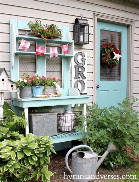 cottage style bench 389 best images about potting bench and tables on