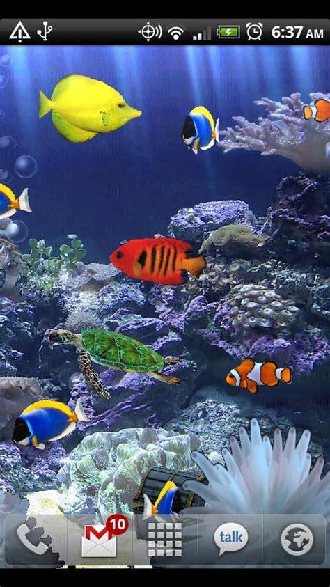wallpaper animasi android aquarium aquarium live wallpaper android apps on google play