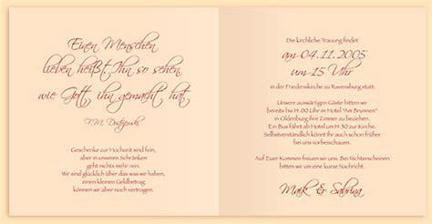 Hochzeitskarte Schreiben Muster Einladungskarten F 252 R Die Hochzeit Und Andere Anl 228 Sse