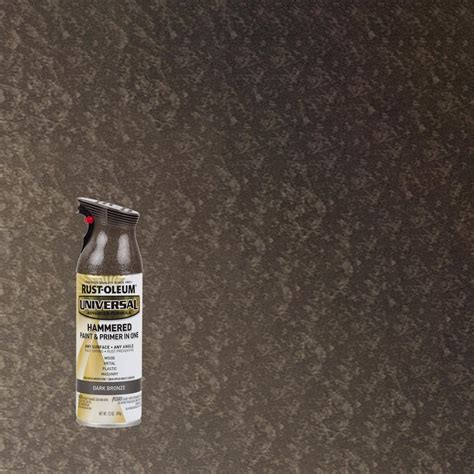 home depot paint metal rust oleum universal 12 oz all surface hammered