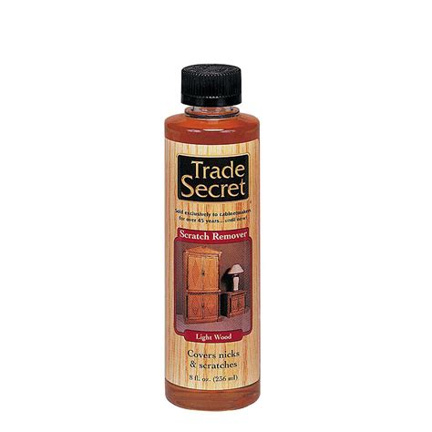Furniture Scratch Remover by Trade Secret Scratch Remover 8oz Light