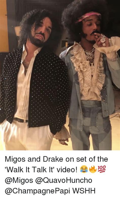 Drake Walking Meme - 25 best memes about migos migos memes