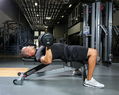 single arm dumbell bench press elite ufc training made simple ufc 174 news