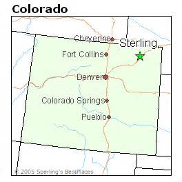 map of sterling colorado best places to live in sterling colorado