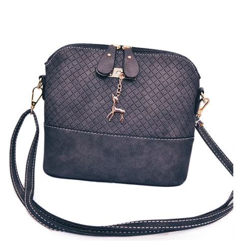 Tas Selempang Wanita Deer tas selempang wanita deer leather bags black