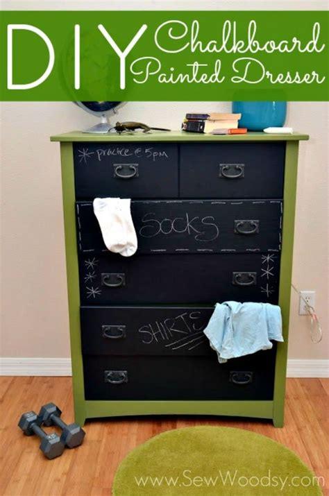 diy chalkboard dresser 30 diy chalkboard paint projects diy ready