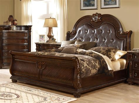 french provincial bed amber french provincial sleigh california king bed in dark