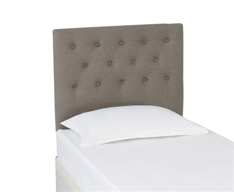 Upholstered Headboard Grey by Fossil Grey Upholstered Headboard 3ft 4ft 6 5ft