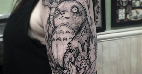 finger tattoo vancouver another beautiful totoro artist nomi chi gastown tattoo