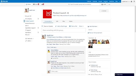 Office Yammer Work Like A Network Enterprise Social And The Future Of