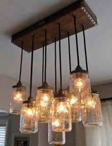 how to make jar light fixture 34 fabulous jar lights interior design
