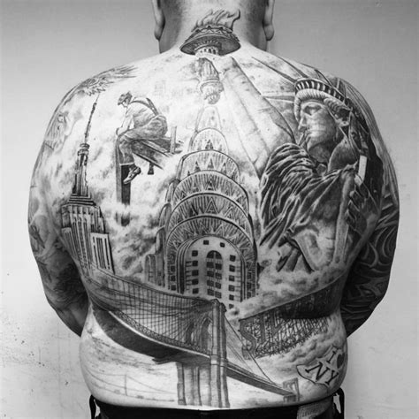 new york tattoo age limit tattoos celebrating nyc s greatest landmarks tattoodo