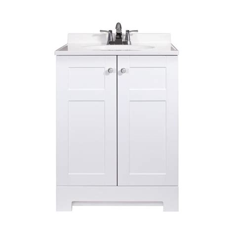 marble top bathroom vanity shop style selections white integral single sink bathroom
