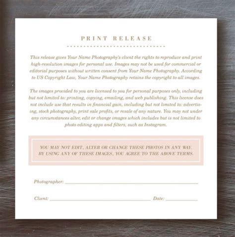 sle print release form exle printable sle