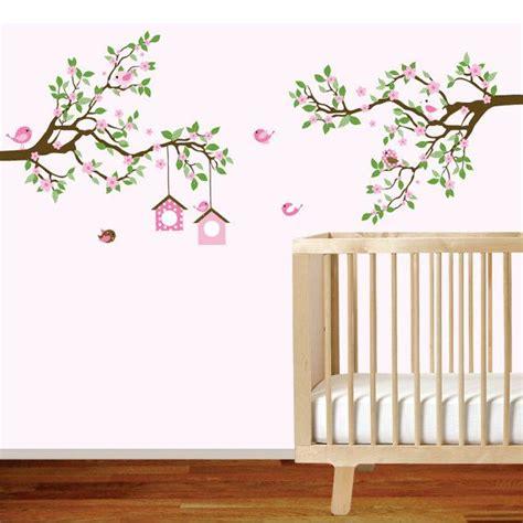 Branch Wall Decal Baby Girl Nursery Tree Branch Decal Tree Branch Wall Decal Nursery